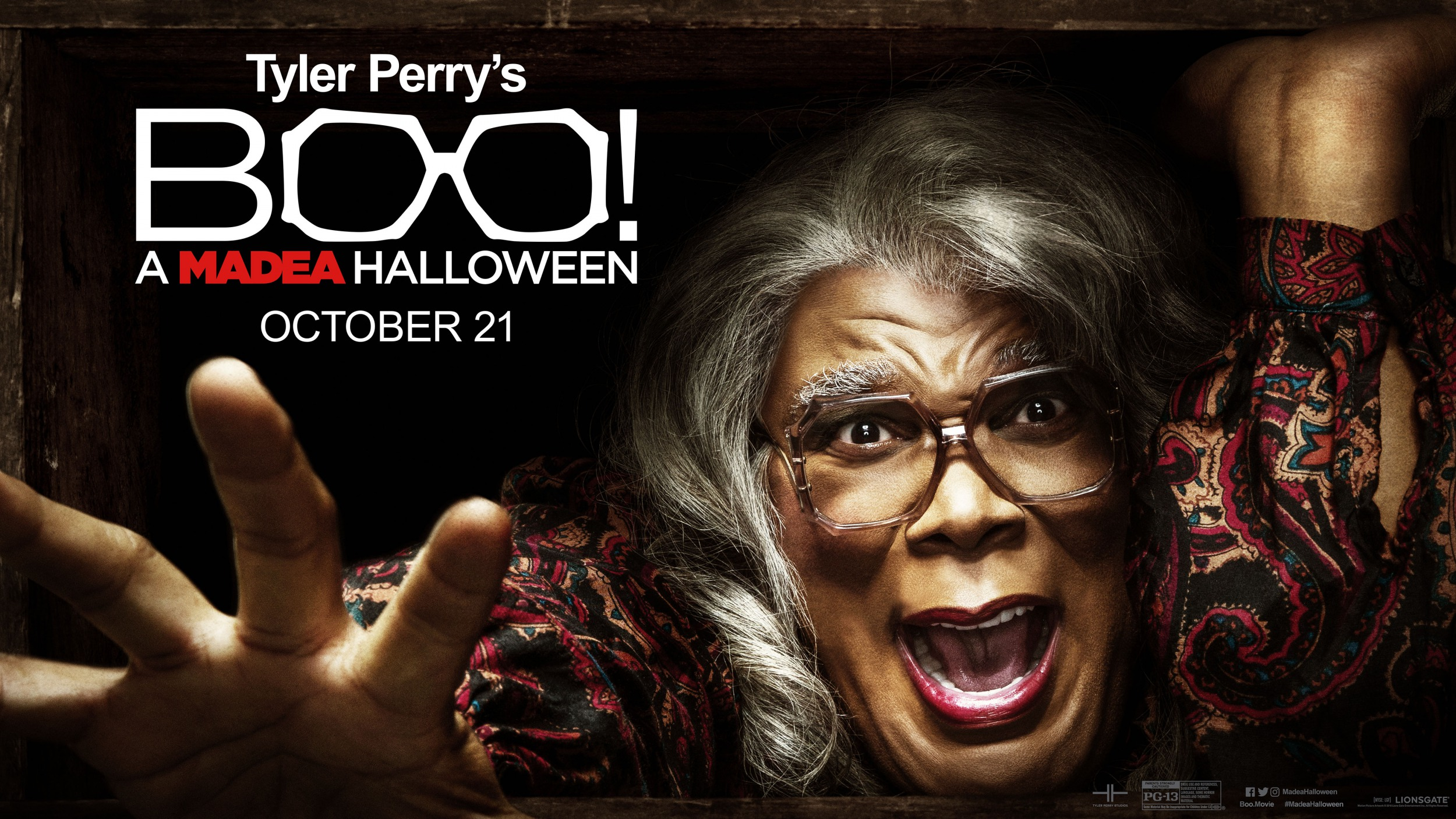 Another Poster To Tyler Perry's Boo! A Madea Halloween - blackfilm ...
