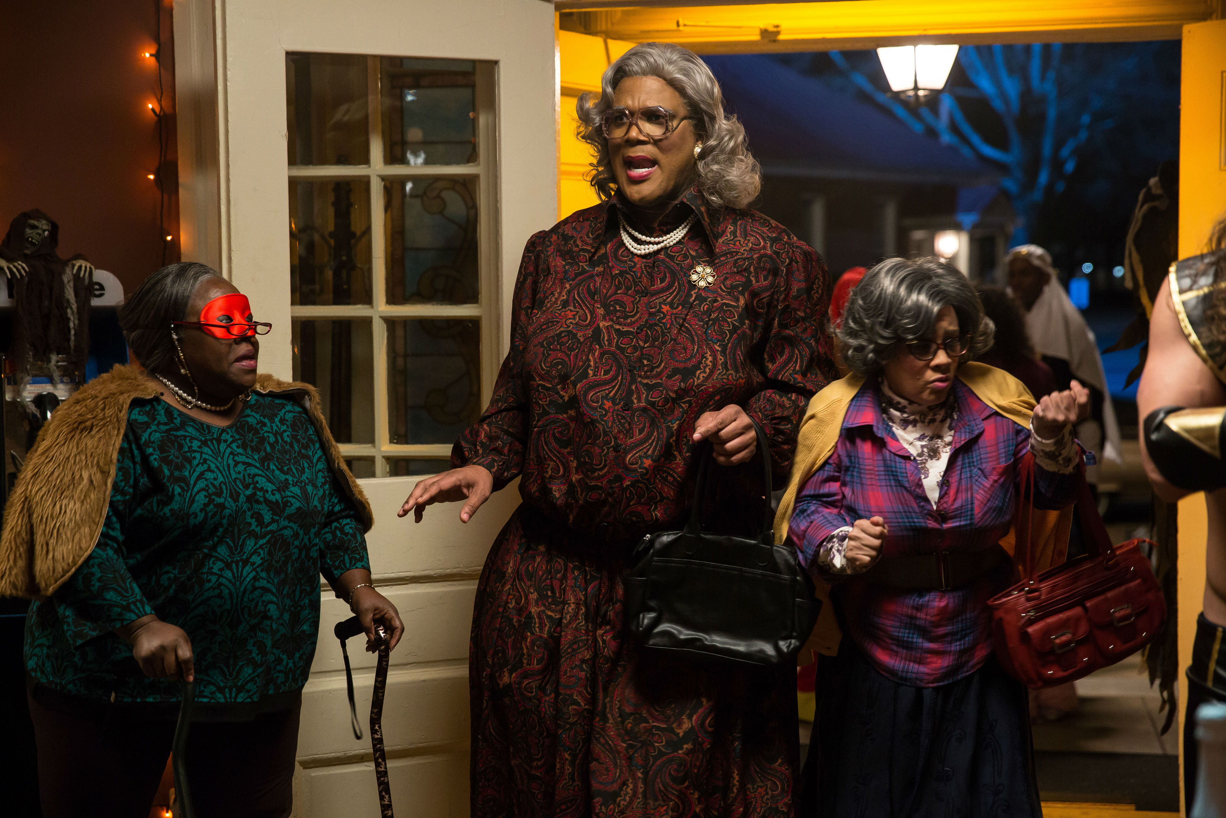 Exclusive Featurette From Tyler Perry's Boo! A Madea Halloween Blu ...