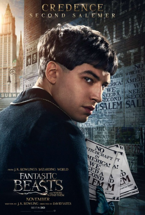 Resultado de imagem para ezra miller fantastic beasts and where to find them