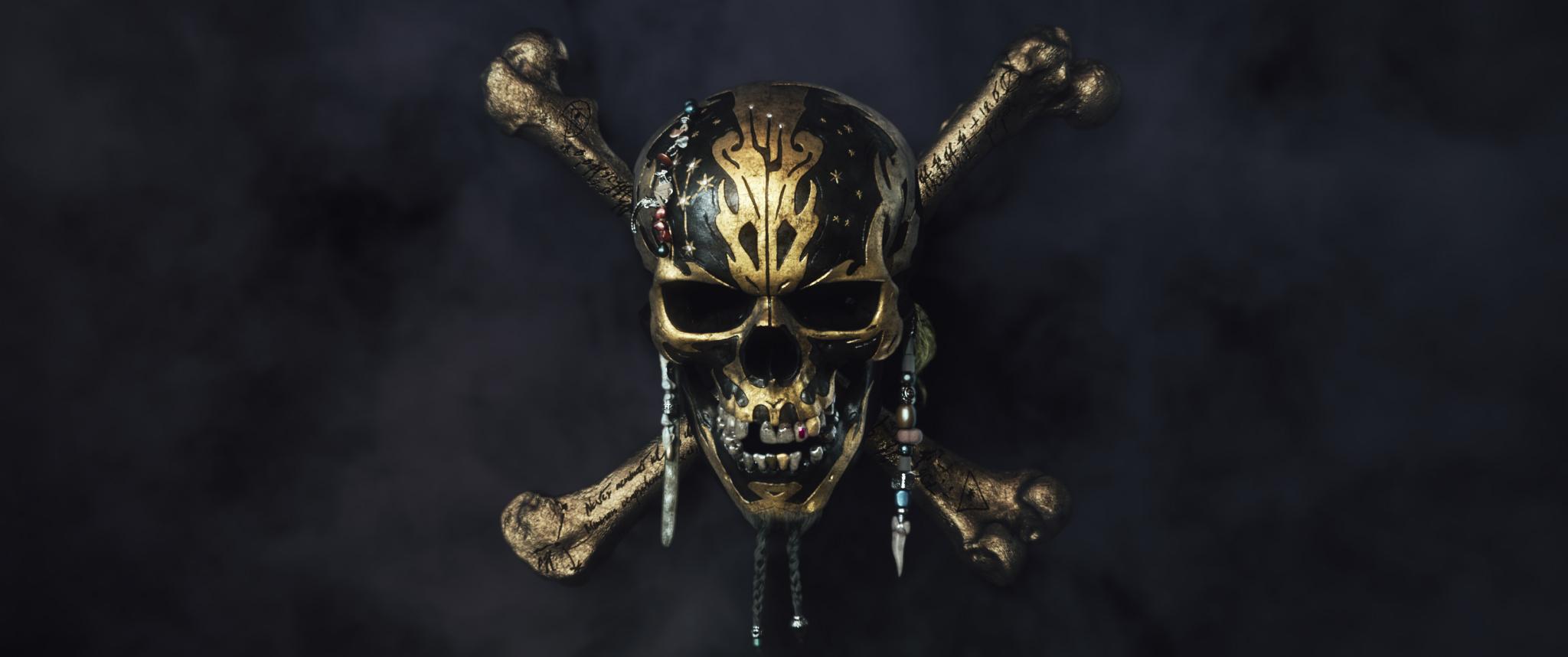 Dead Men Tell No Tales Wallpaper: Pirates-of-the-caribbean-dead-men-tell-no-tales-logo