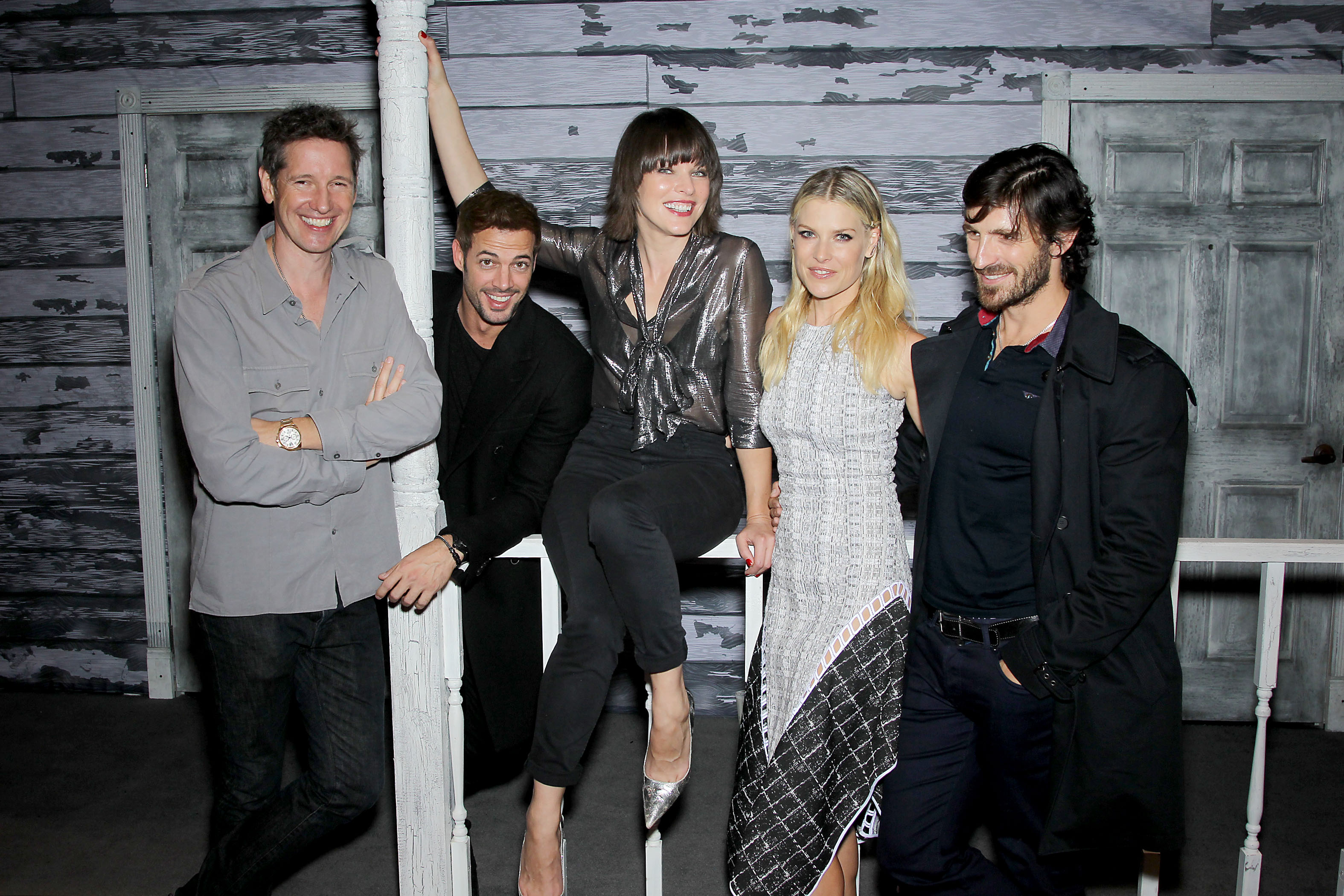 """Resident Evil The Final Chapter Cast On Reclaiming: Cast Of """"RESIDENT EVIL: THE FINAL CHAPTER"""" At The New York"""