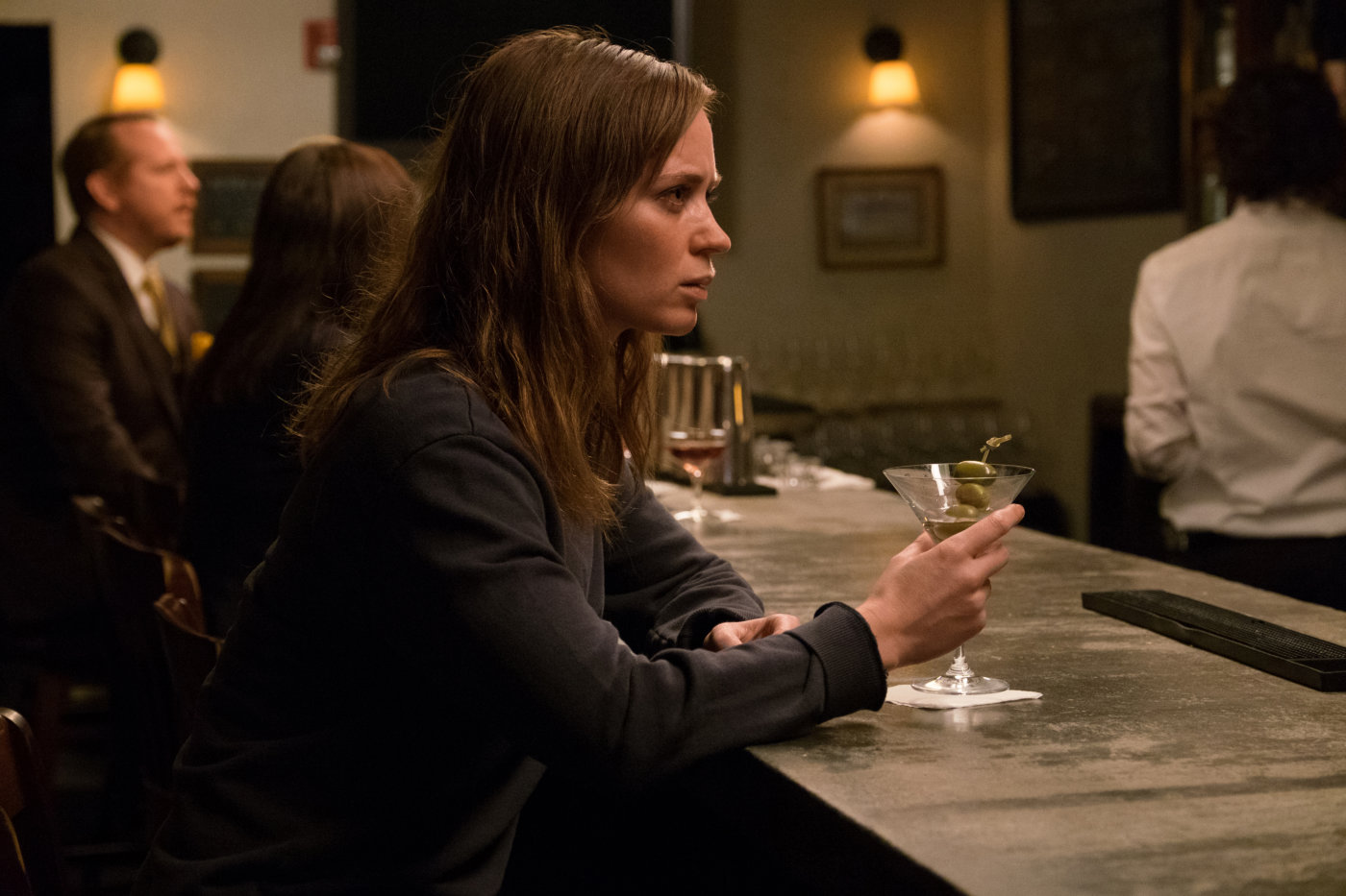 """the girl on the train More than 15-million people have read paula hawkins' """"the girl on the train,"""" and now a film starring emily blunt, rebecca ferguson and haley bennett hopes to capitalize on its success."""