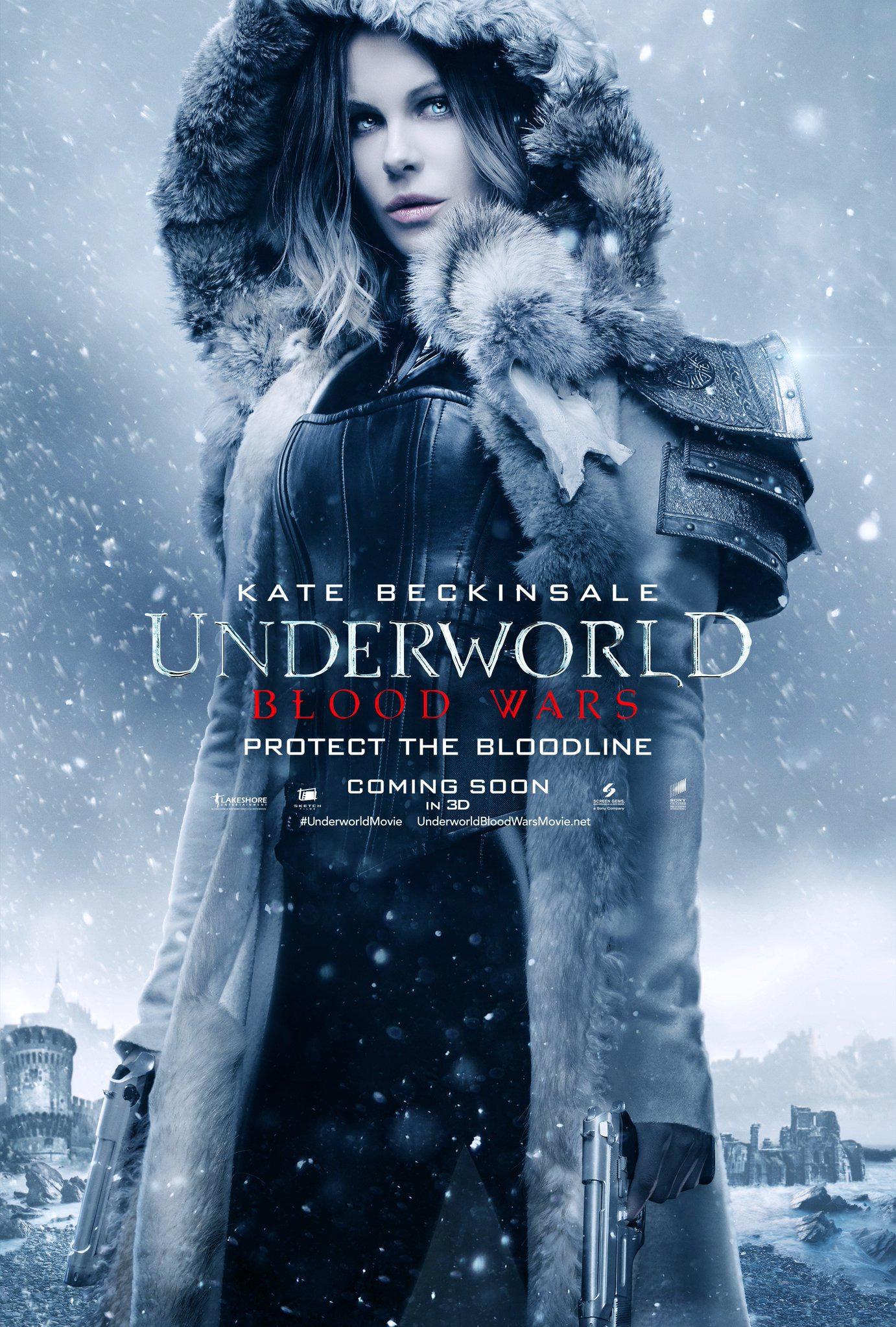 underworld blood wars poster kate beckinsale   blackfilm