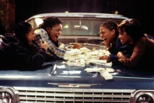 SET IT OFF, Jada Pinkett, Kimberly Elise, Queen Latifah, Vivica Fox, 1996