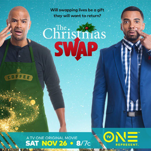 Tv One To Air The Christmas Swap With Christian Keyes And Dondre