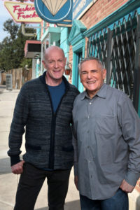 HAIRSPRAY LIVE! -- Season: 1 -- Pictured: (l-r) Neil Meron, Craig Zadan, Executive Producers -- (Photo by: Chris Haston/NBC)
