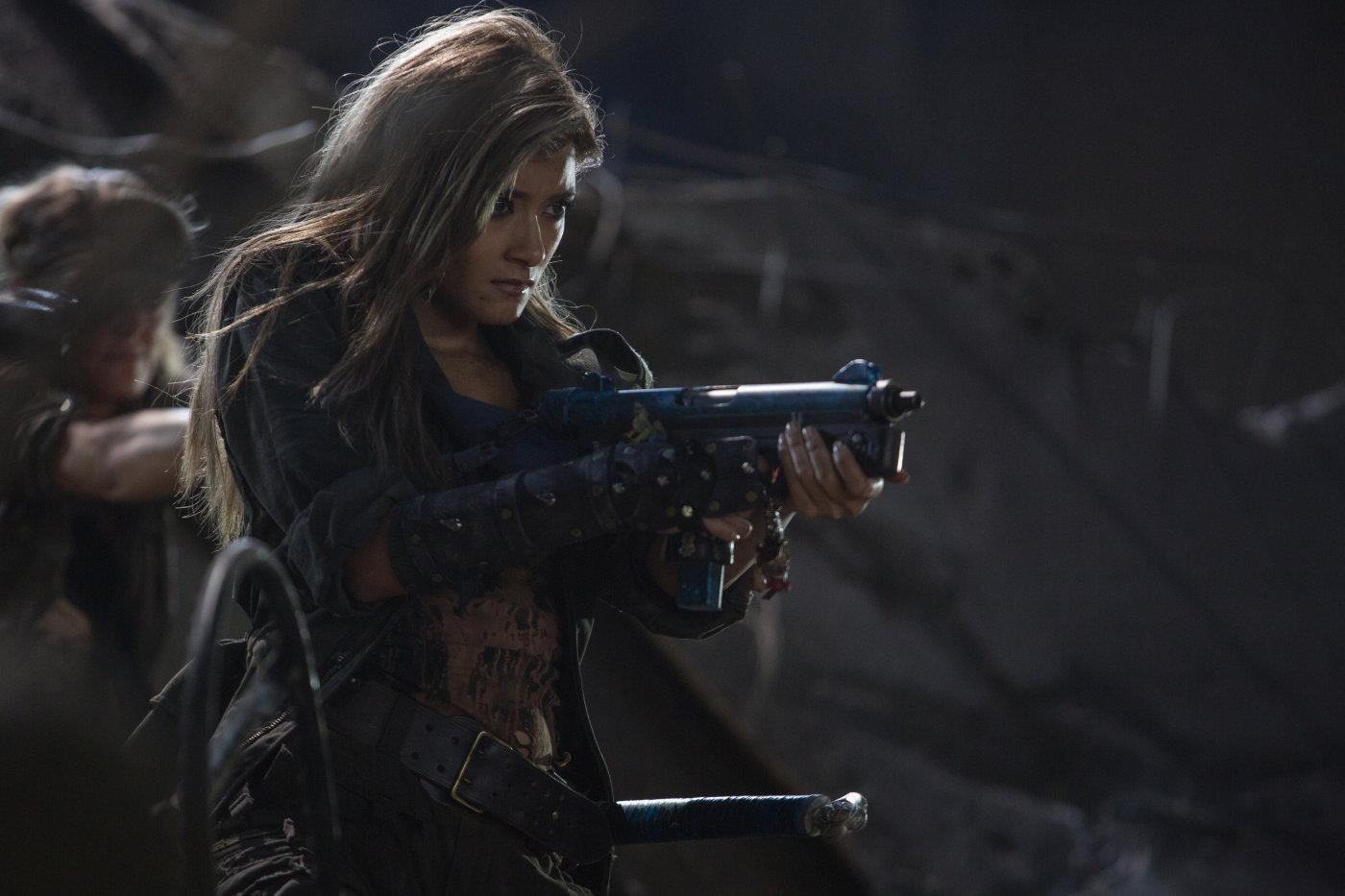 Resident Evil The Final Chapter Abigail Featurette: Images: Resident Evil: The Final Chapter