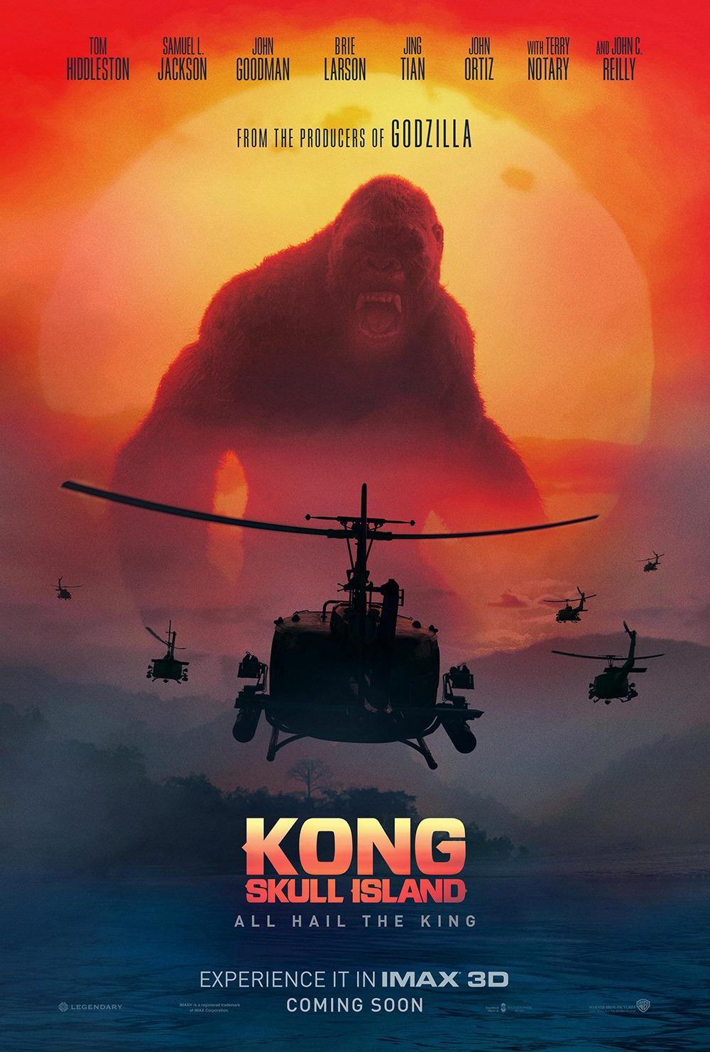 Imax Poster Kong Skull Island