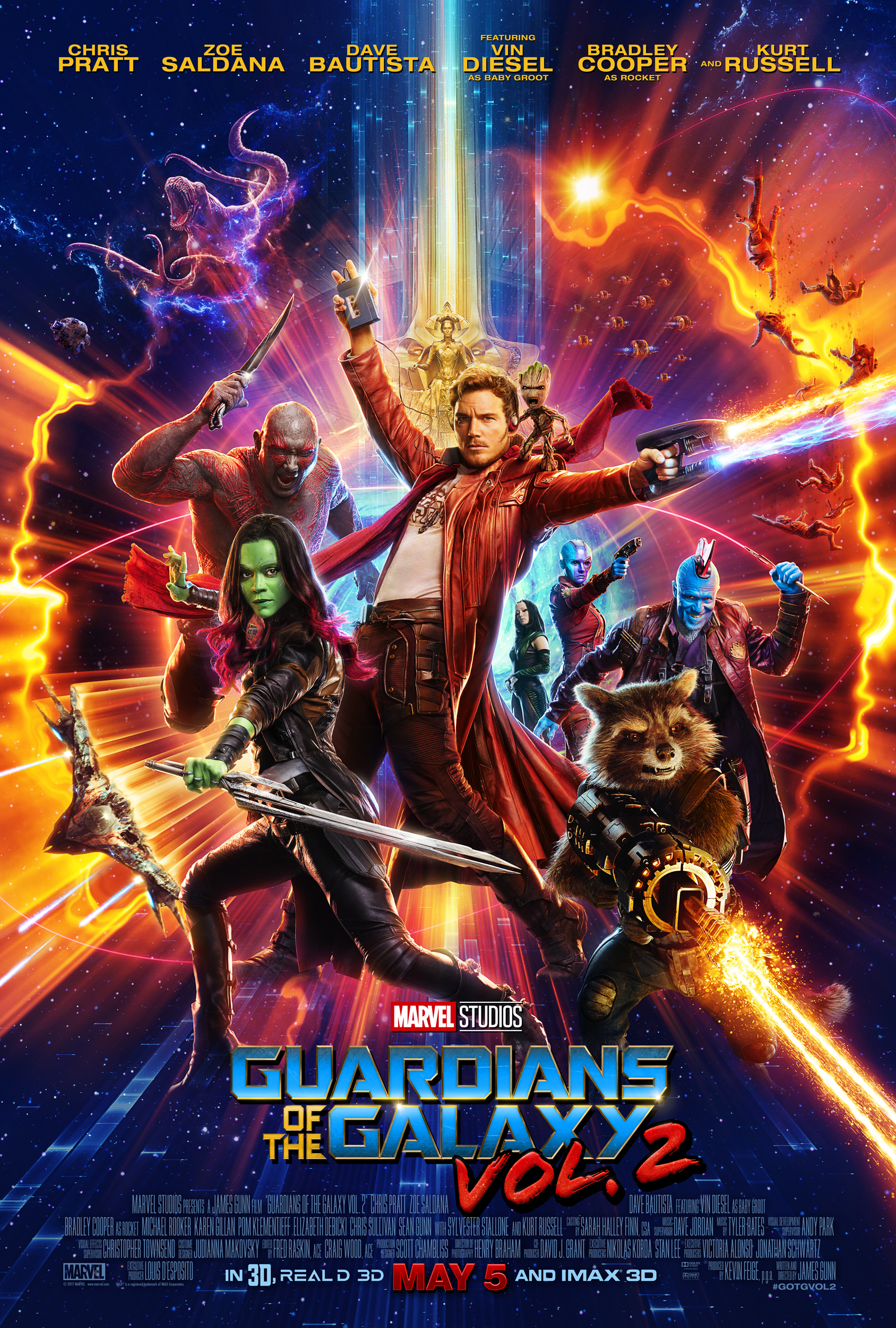 New Trailer  U0026 Poster For Guardians Of The Galaxy Vol  2