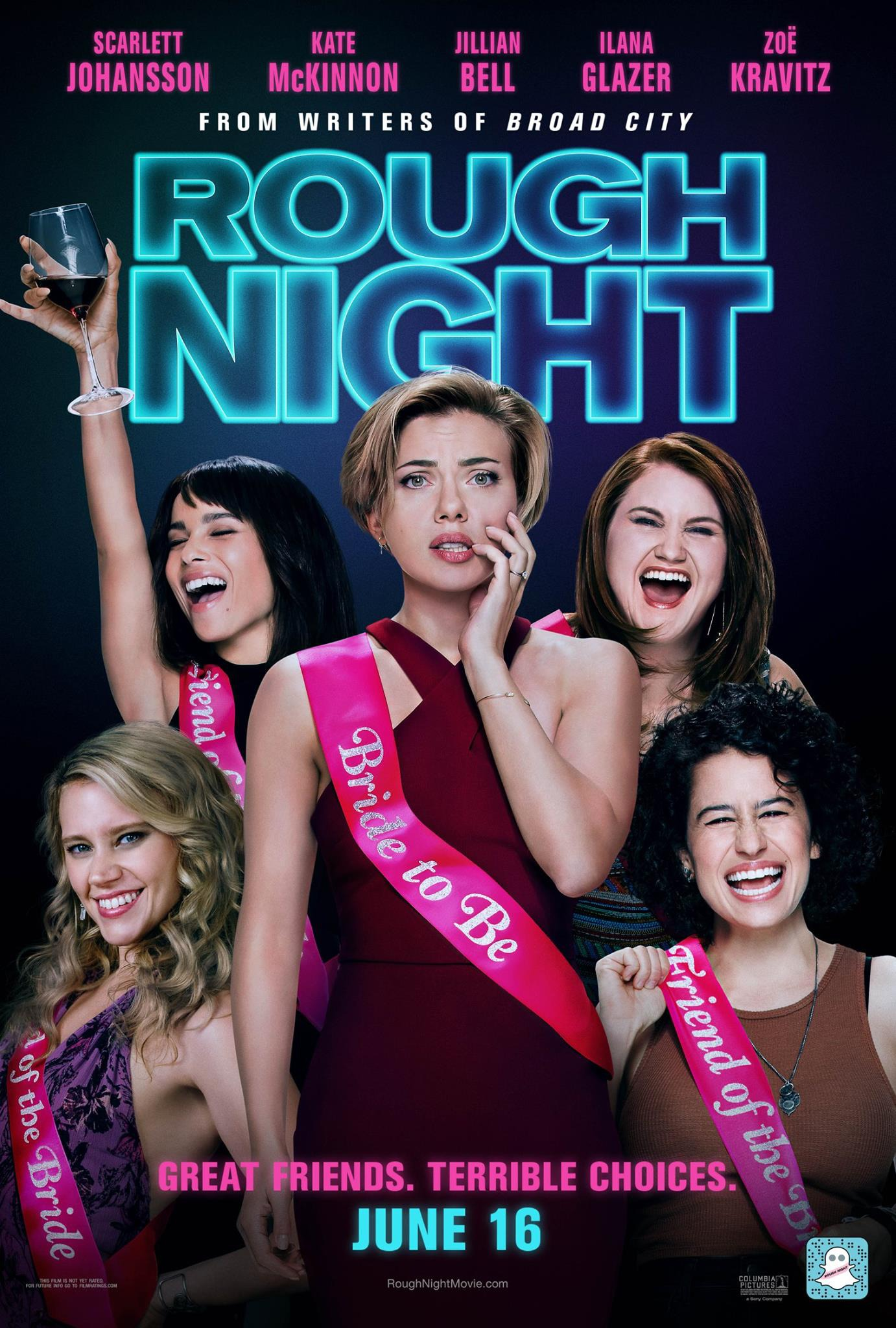 Image result for rough night poster