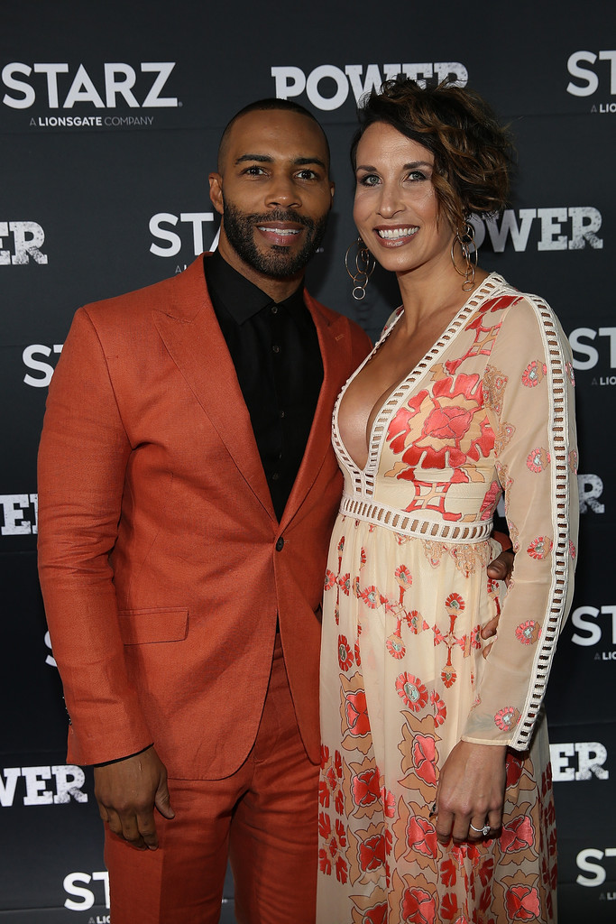 Omari Hardwick, 43,�and Jennifer Pfautch happily married since 2012