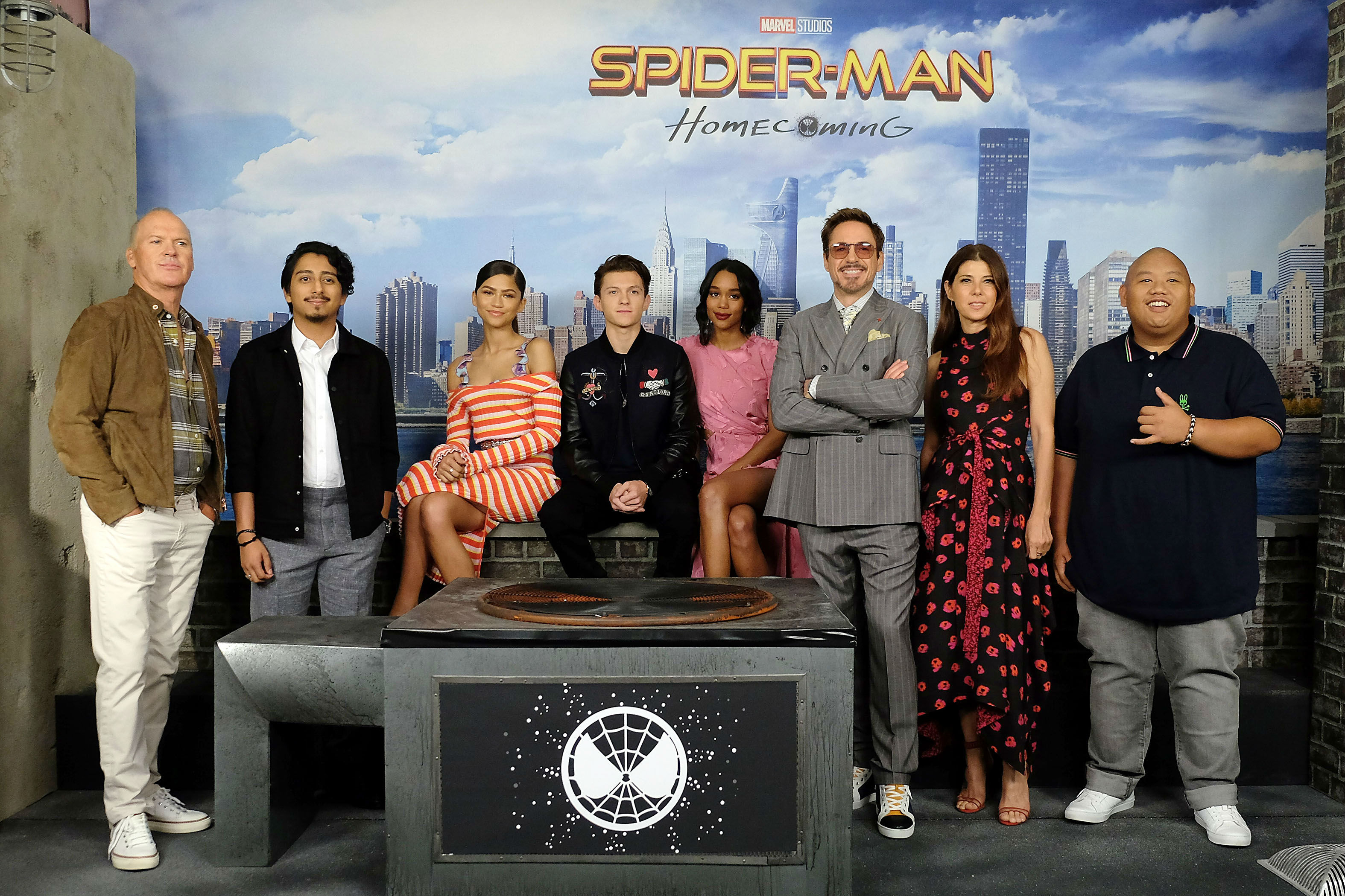 Spiderman Homecoming Cast