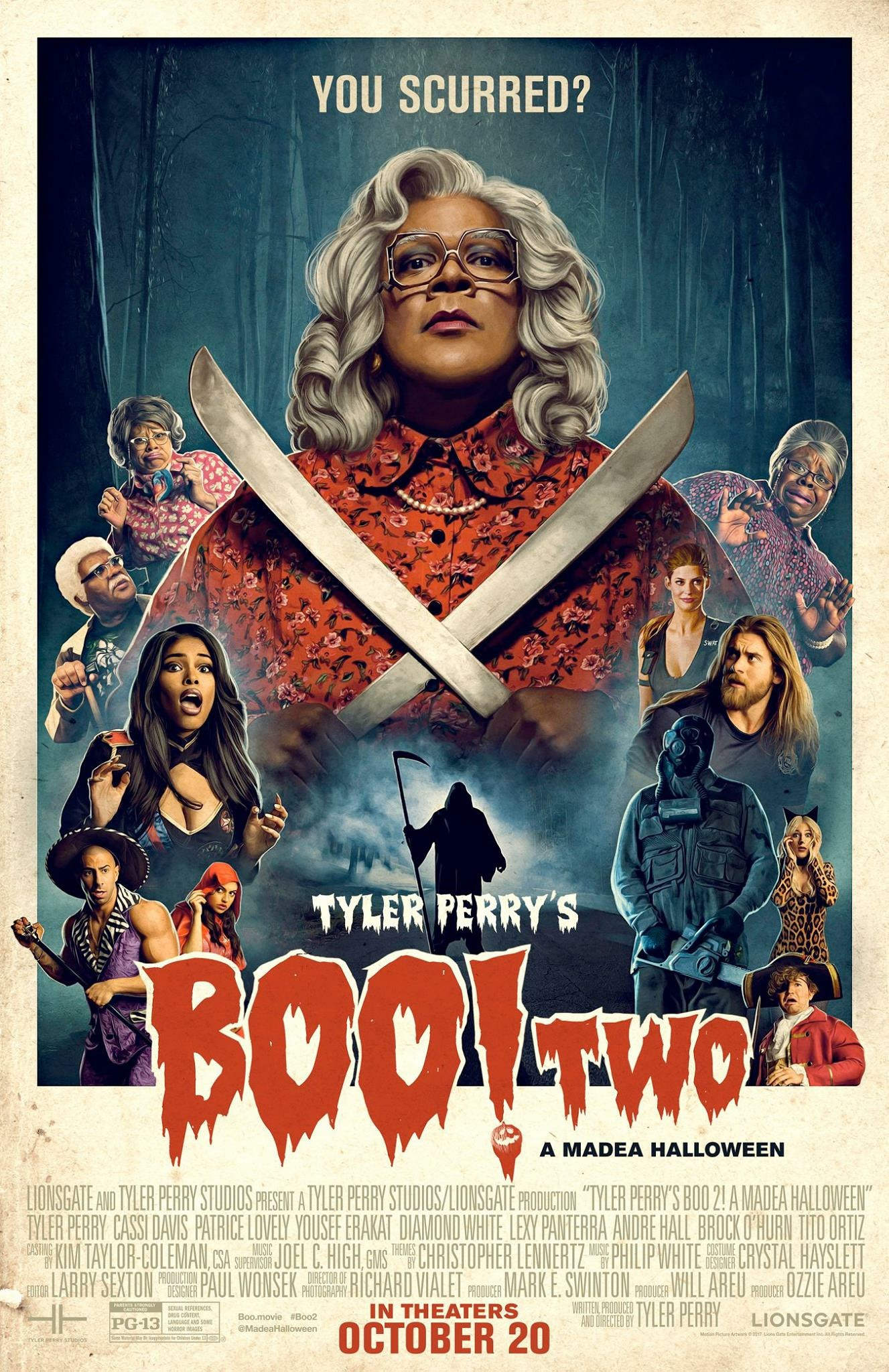 Official Trailer To Tyler Perry's 'Boo 2! A Madea Halloween ...