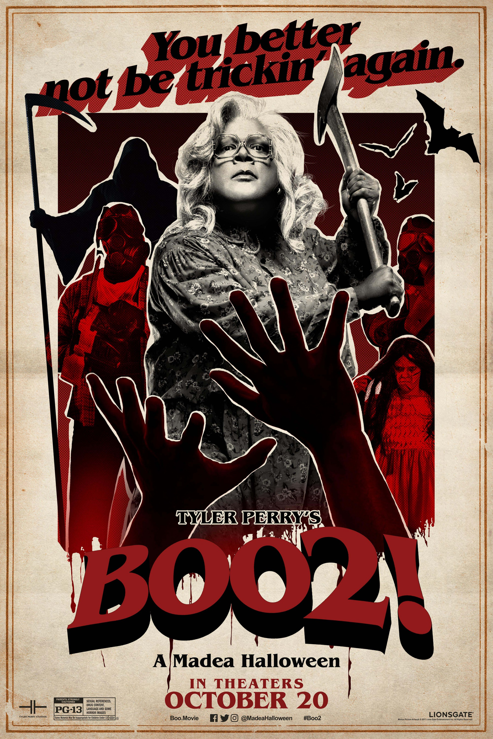 clips to tyler perrys boo 2 a madea halloween