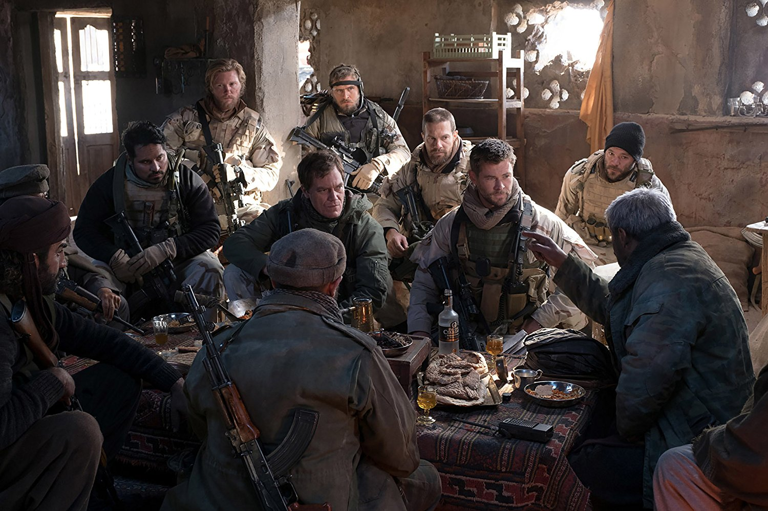 Trailer For 12 Strong Starring Chris Hemsworth, Michael ...