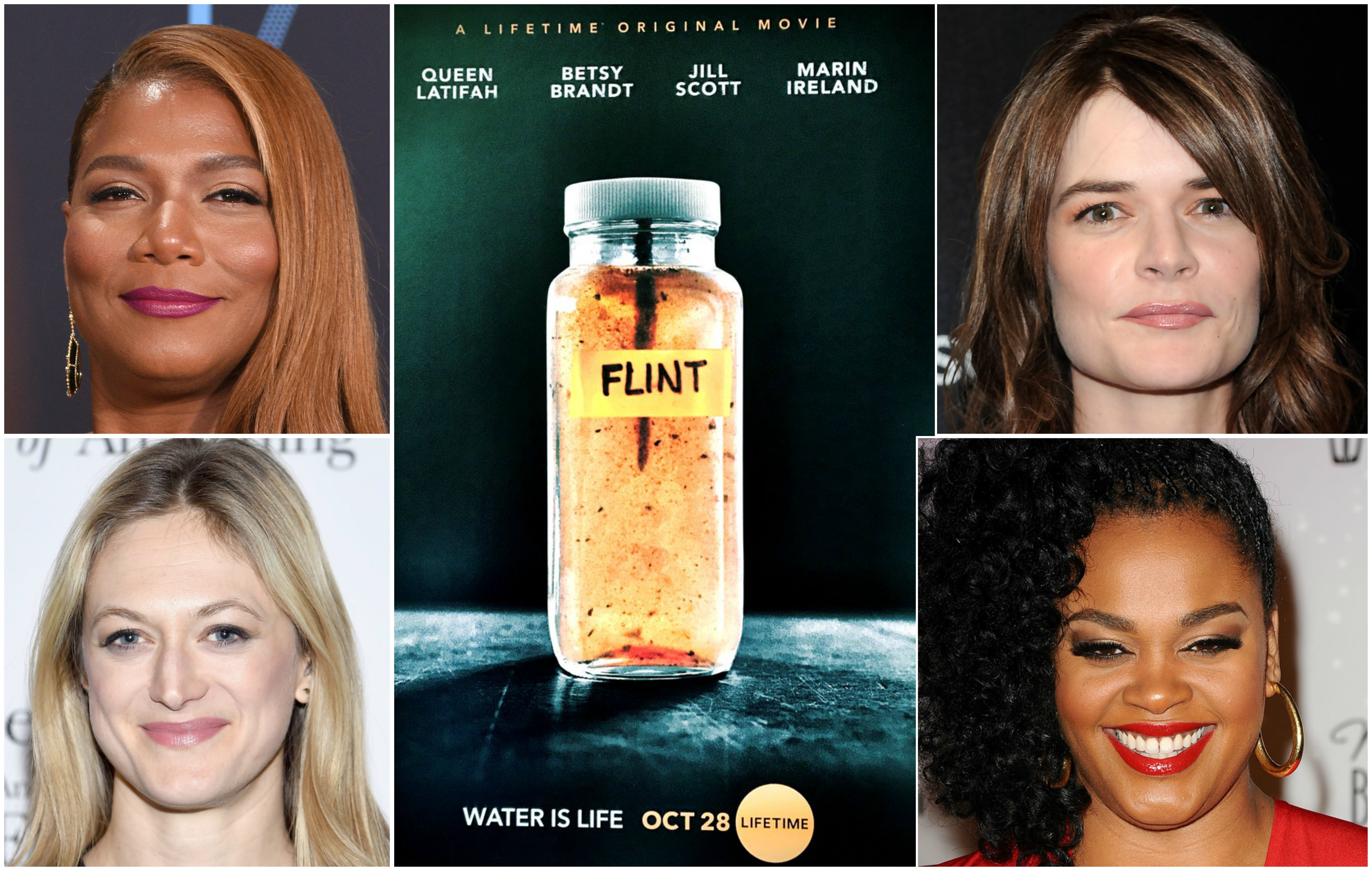 lifetime tv has released a trailer and more photos of queen latifah betsy brandt jill scott and marin ireland from their upcoming film flint which is - Queen Latifah Christmas Movie
