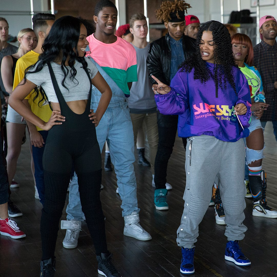 honey rise up and dance sierra mcclain and teyana taylor