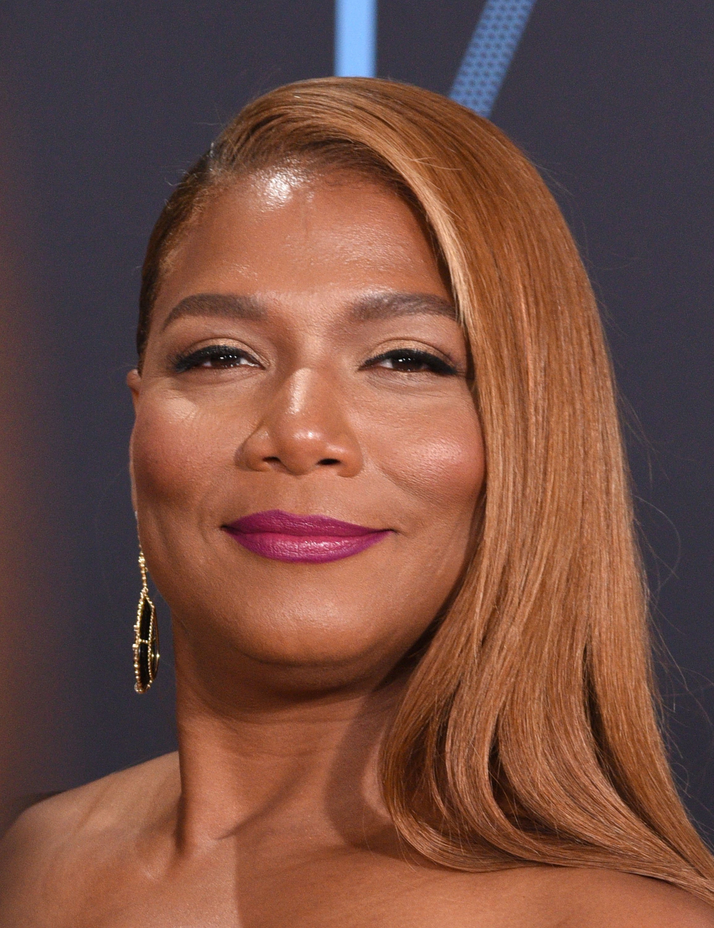 Queen Latifah Hair Color