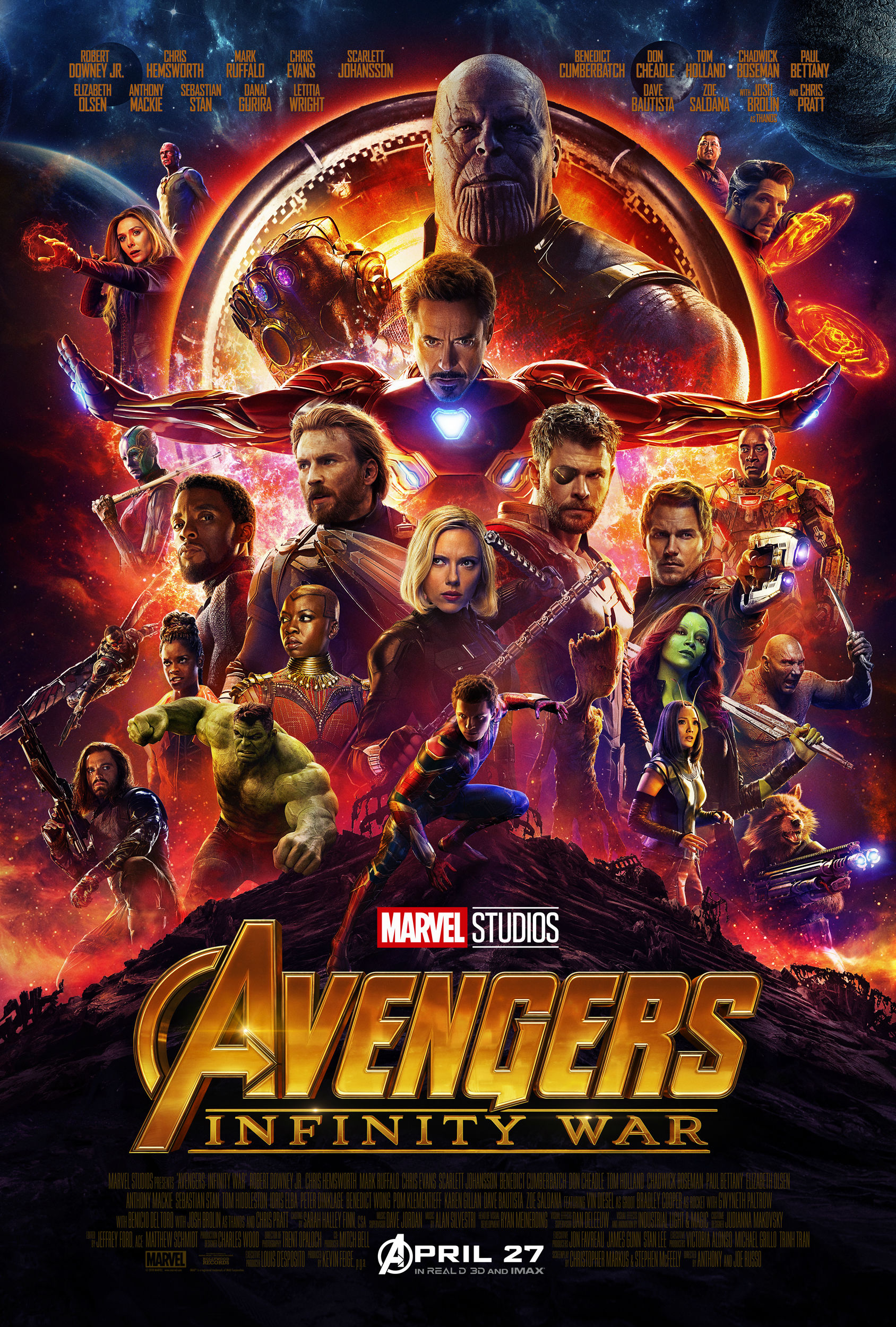 Infinity War Poster Images
