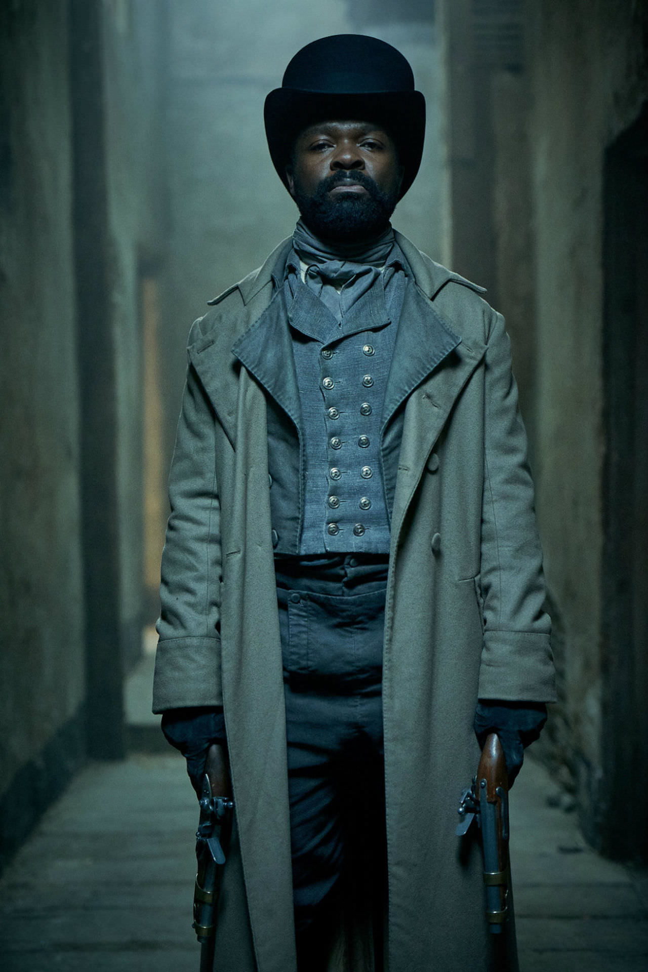 First Look At David Oyelowo as Inspector Javert In PBS's ...