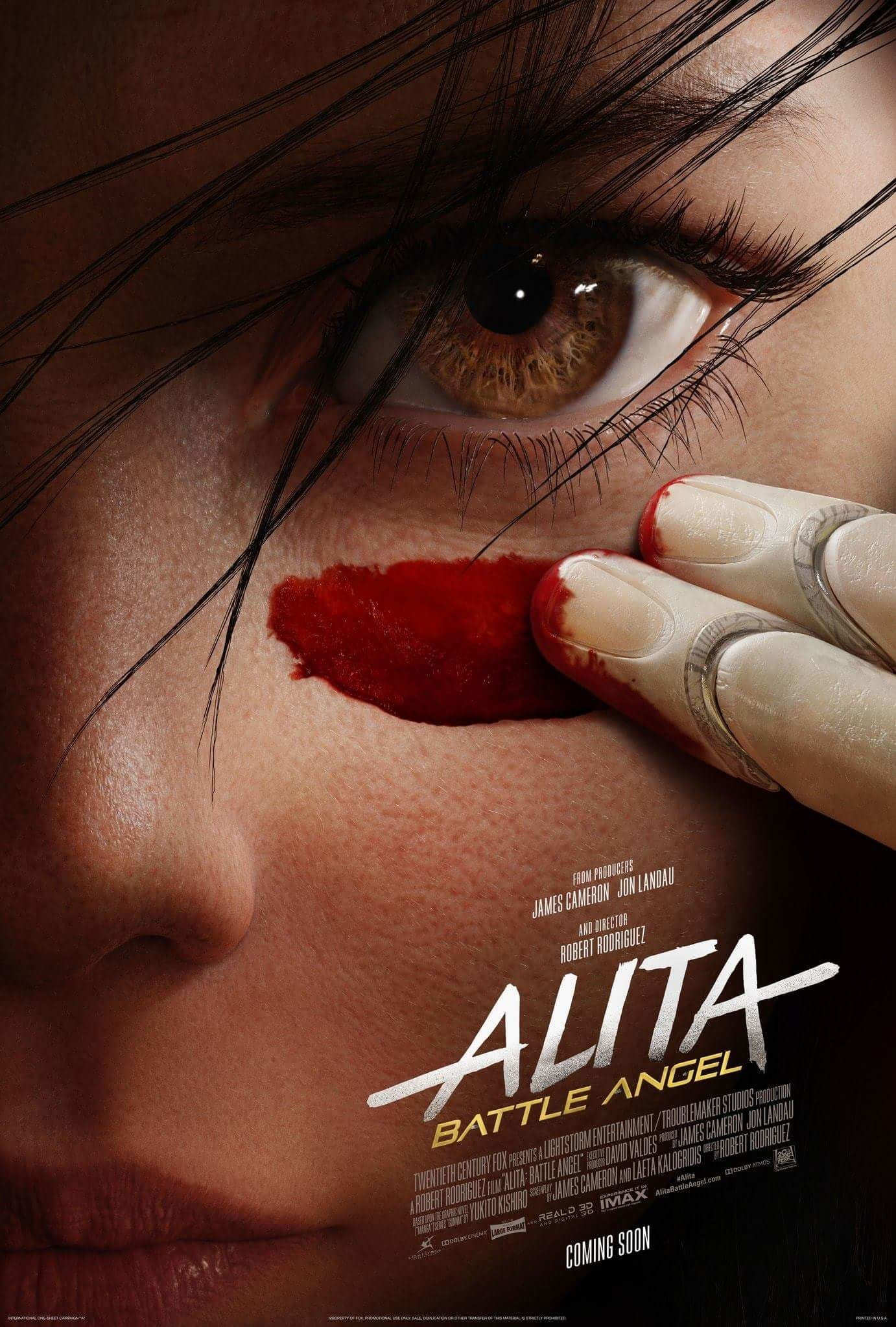 Poster To Alita Battle Angel Blackfilm Black Movies Television