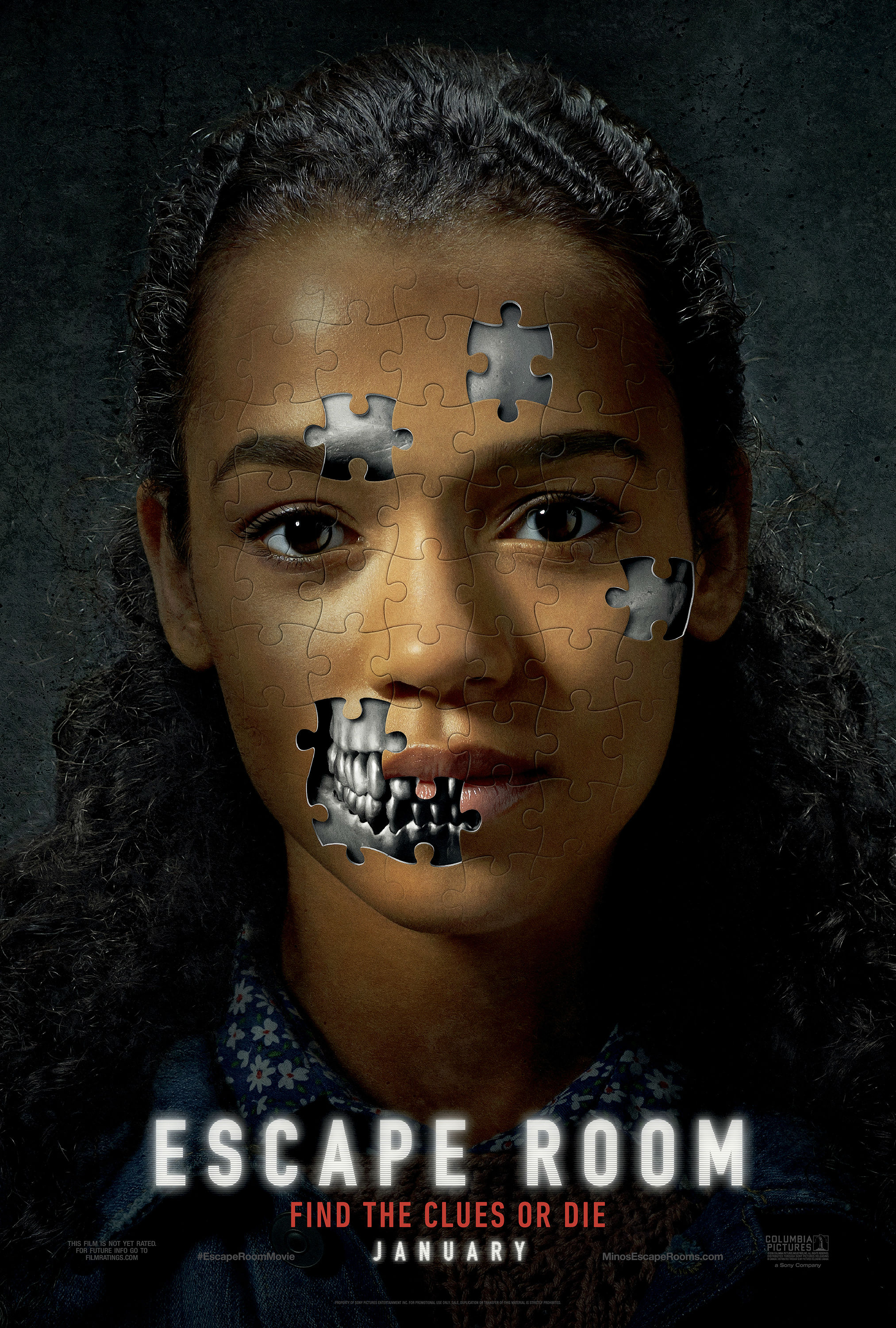 Trailer & Poster To Escape Room Starring Taylor Russell, Jay Ellis