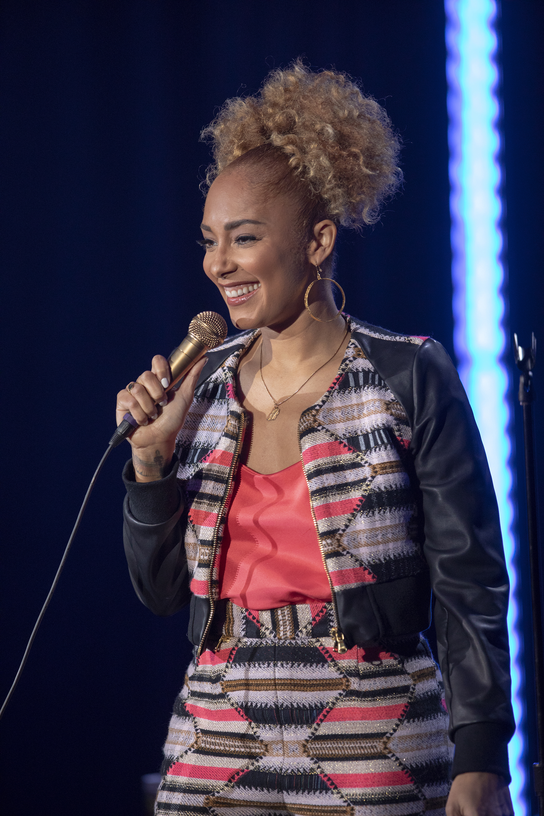 A Series Regular As Tiffany On Insecure Amanda Seales Is Currently Touring With Smart Funny Black The Live Comedic Competition Show She Created