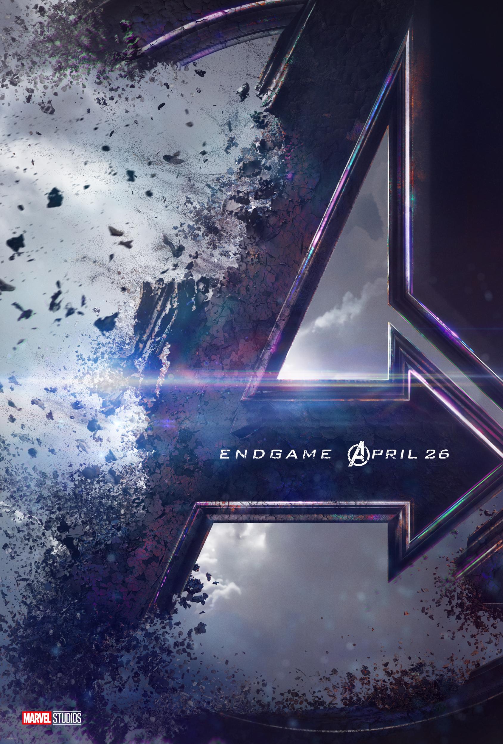 Trailer Amp Poster For Avengers Endgame Blackfilm Black