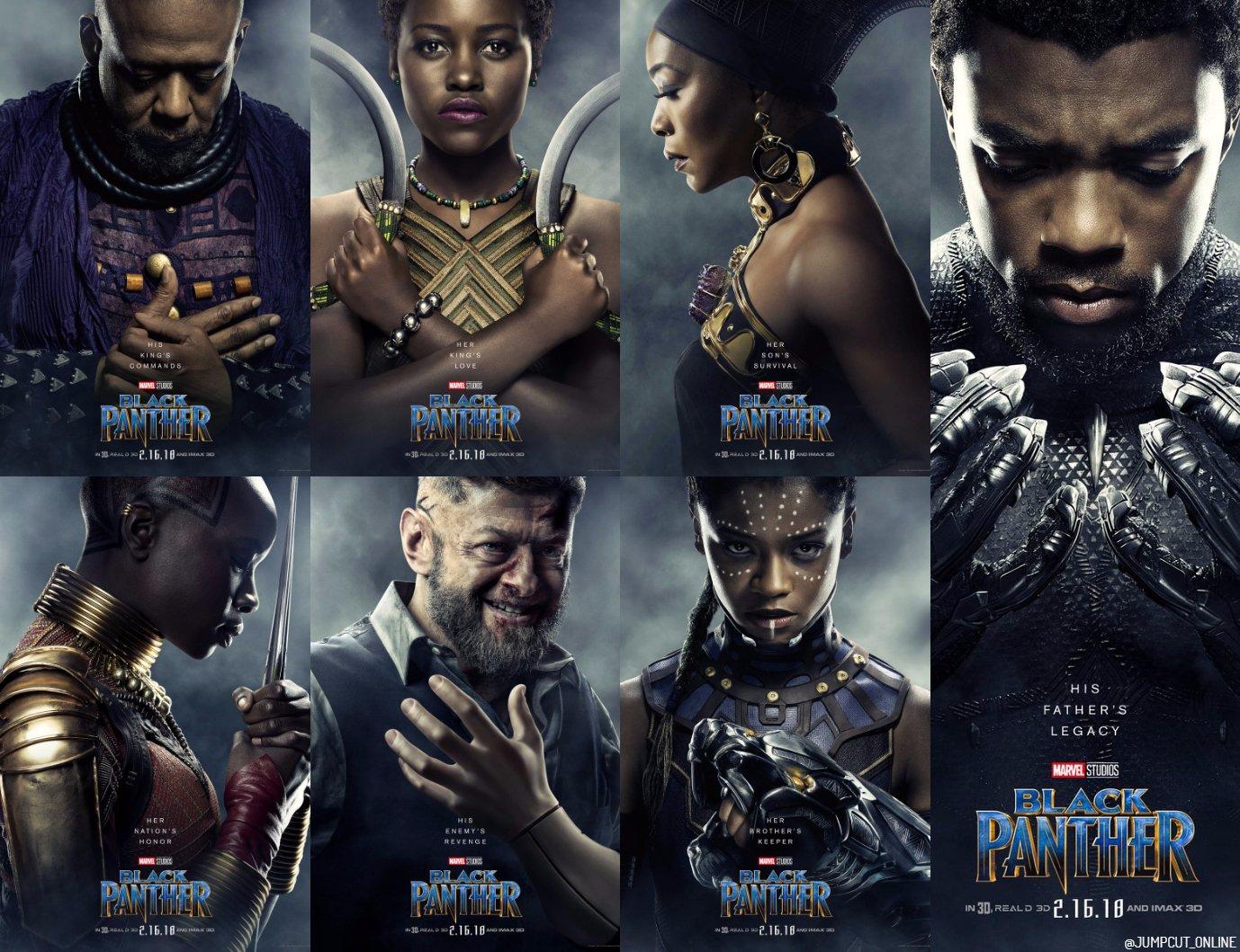 Risultati immagini per black panther film