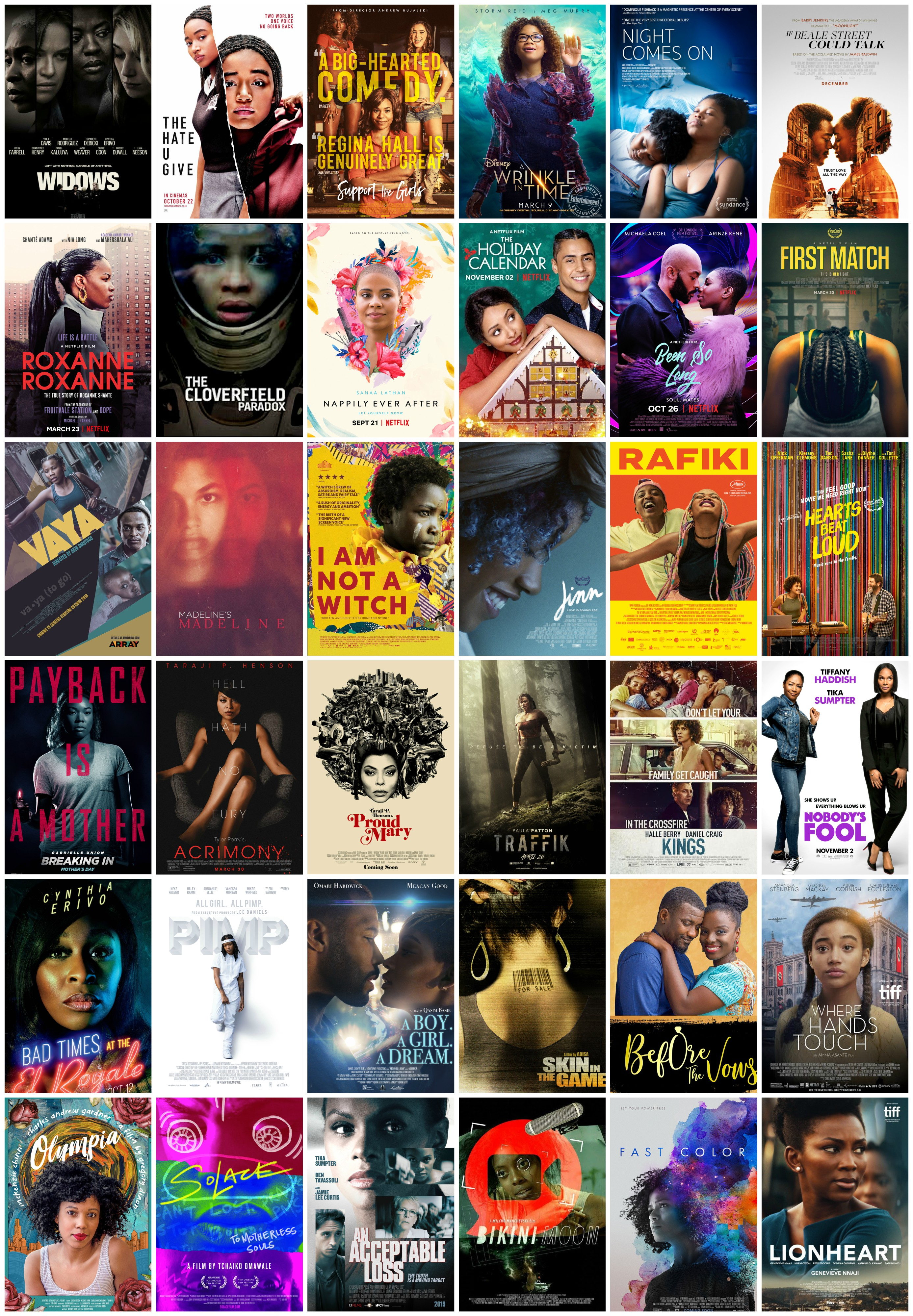 A Salute To The Black Female Leads Of 2018 Films Blackfilm Black