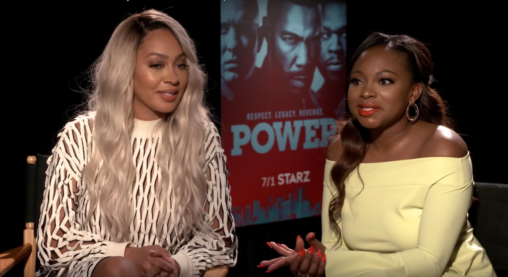 Power Season 5 interviews by Blackfilm com correspondent Sidnee Michelle