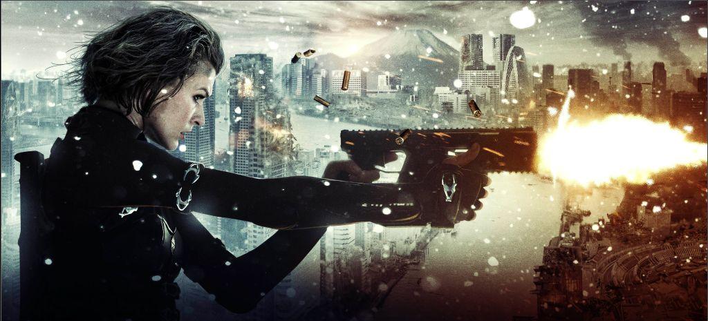 Resident Evil Retribution Blackfilm Black Movies Television