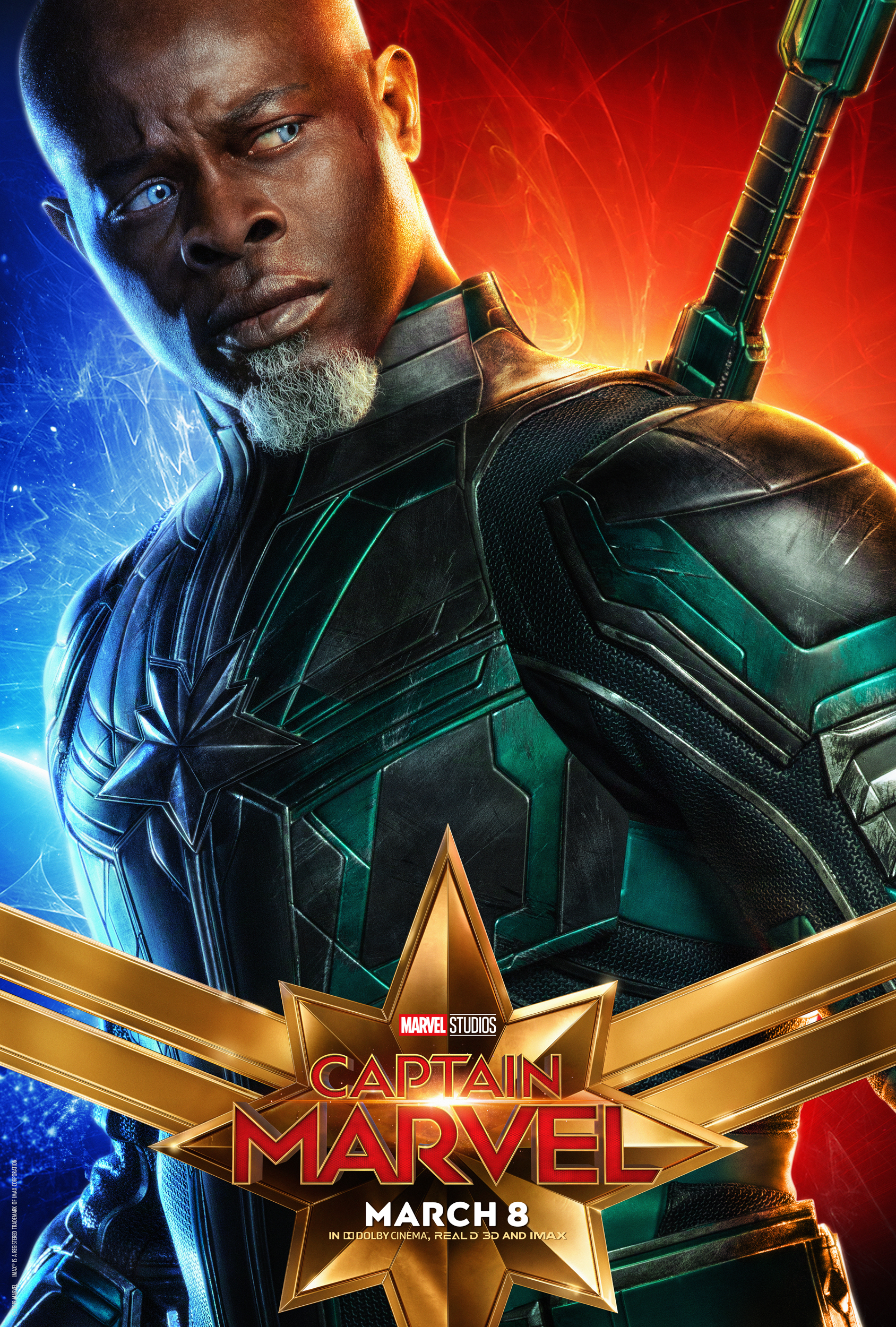 Character Posters For Captain Marvel - Blackfilm - Black Movies