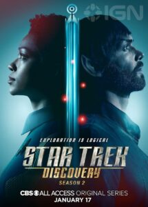 New 'Star Trek: Discovery' Season Two Posters, Cast Images