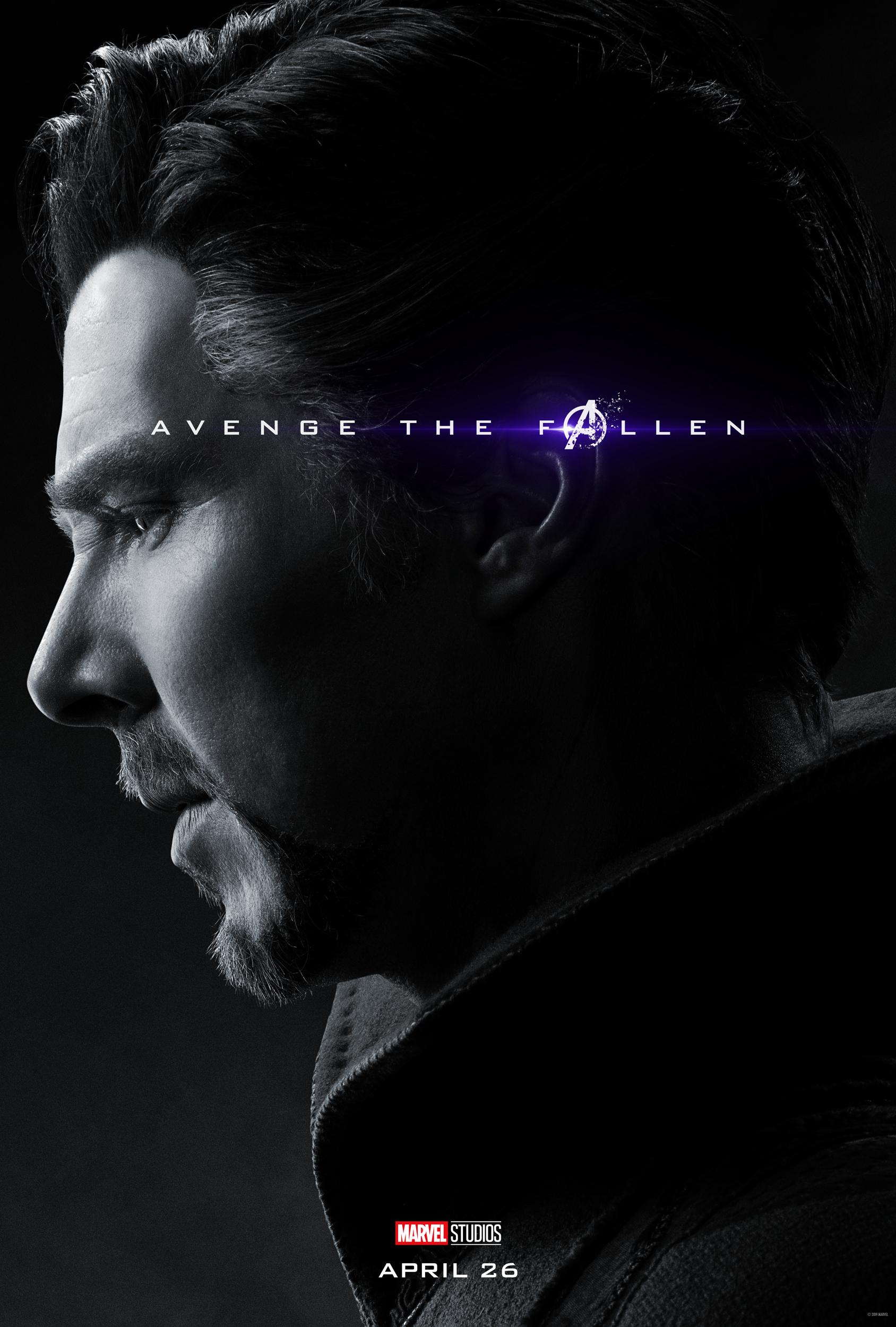 New Avenge The Fallen Character Posters For Avengers Endgame