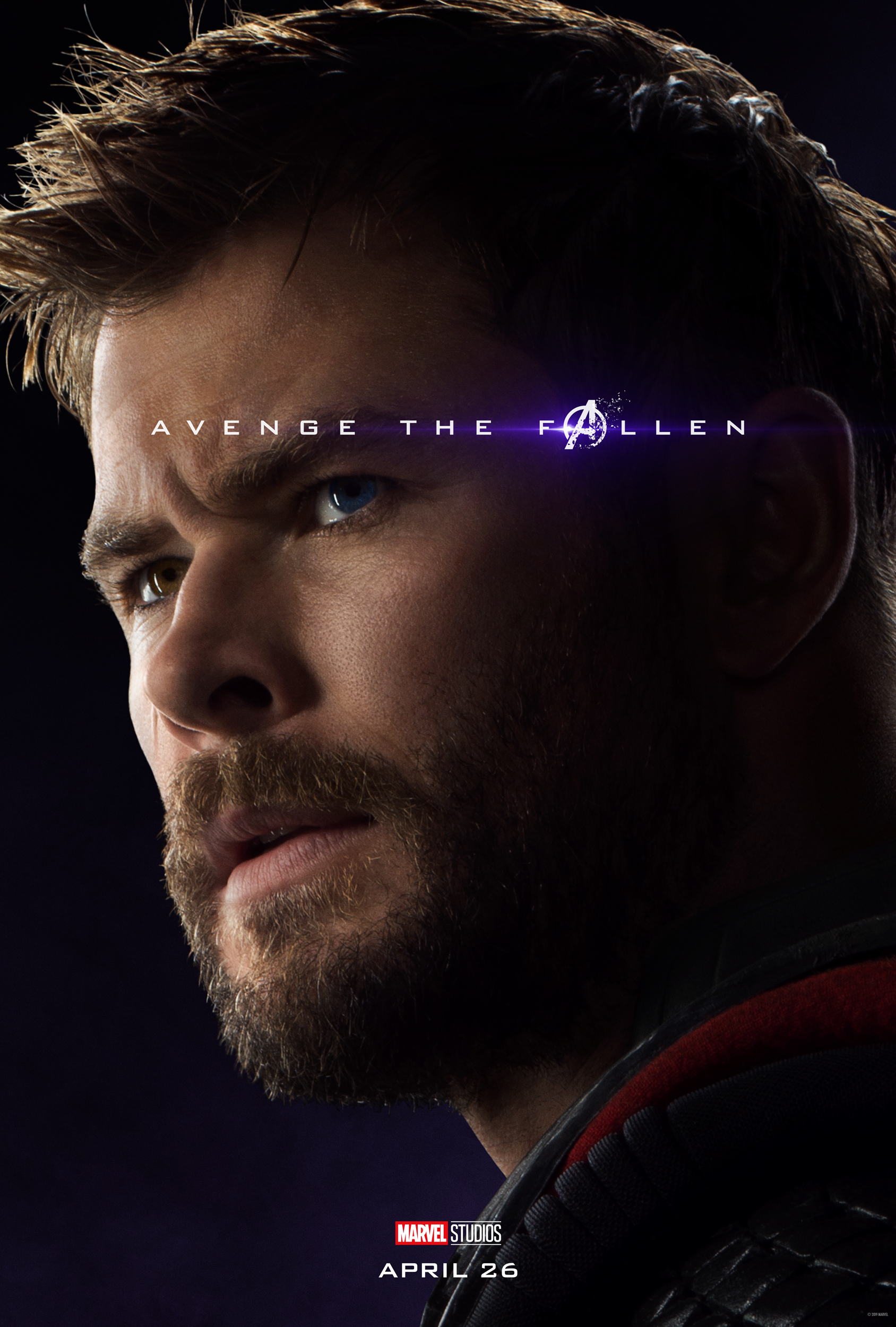 New Avenge The Fallen Character Posters For Avengers Endgame