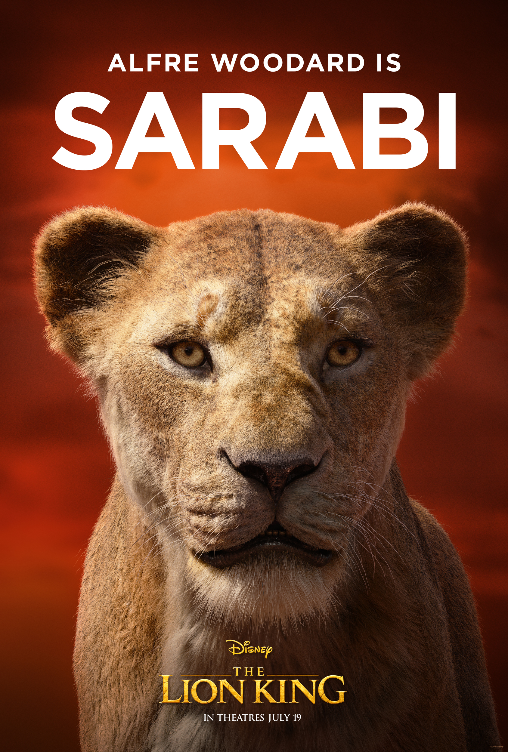 Check Out The Lion King New Images Of Films Cast With Their