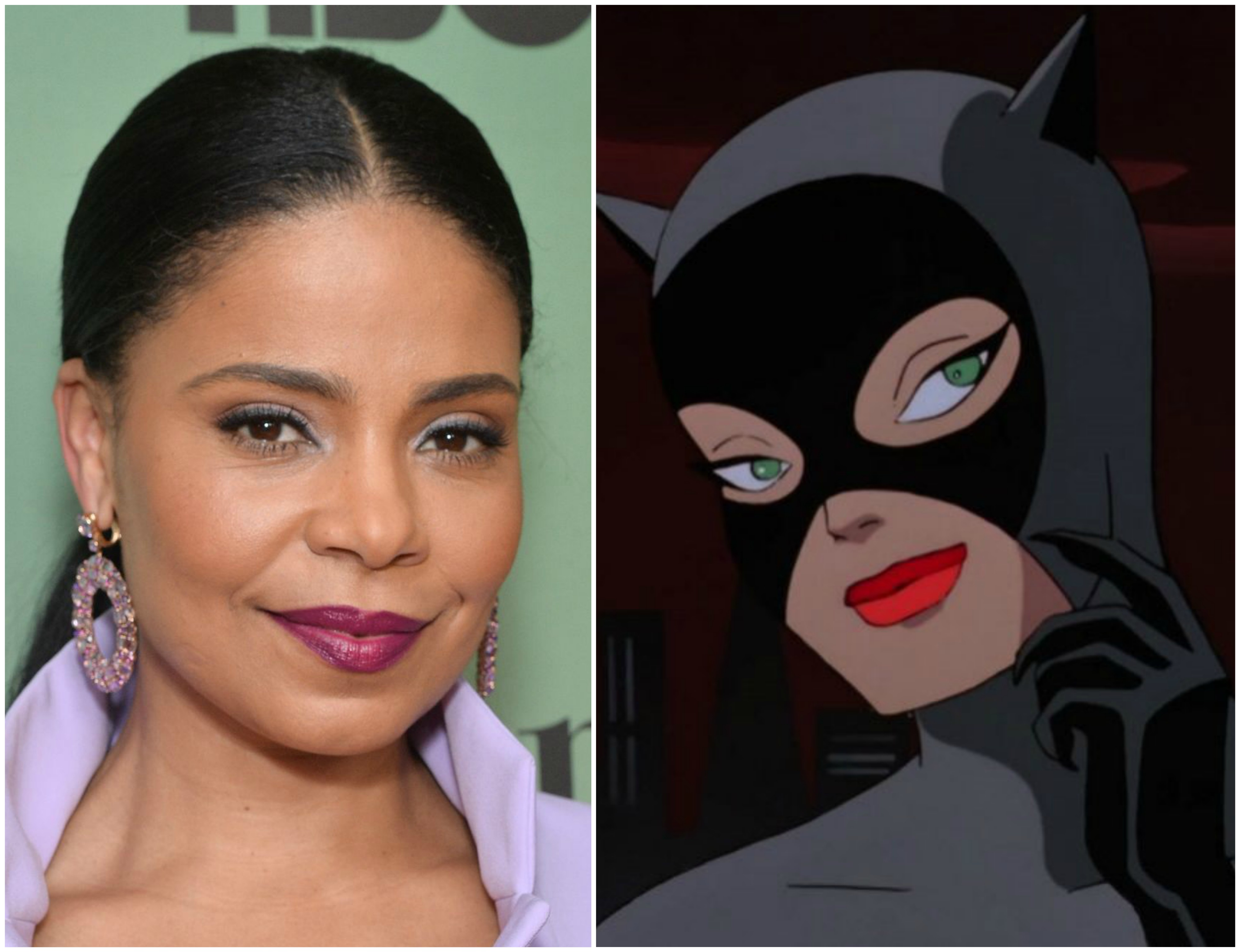 sanaa lathan to voice catwoman in harley quinn animated