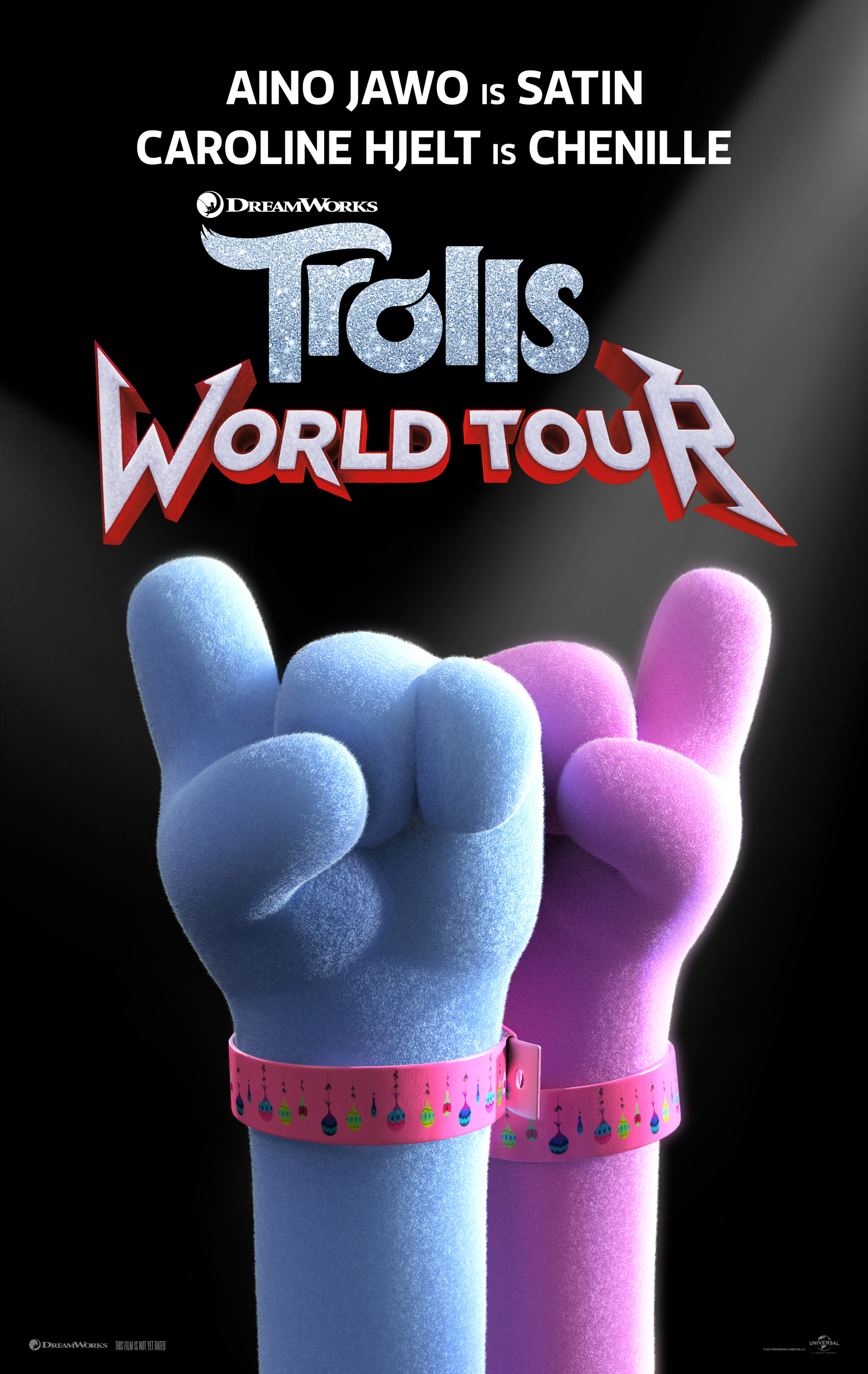 Character Posters For Dreamworks Animation S Trolls World Tour