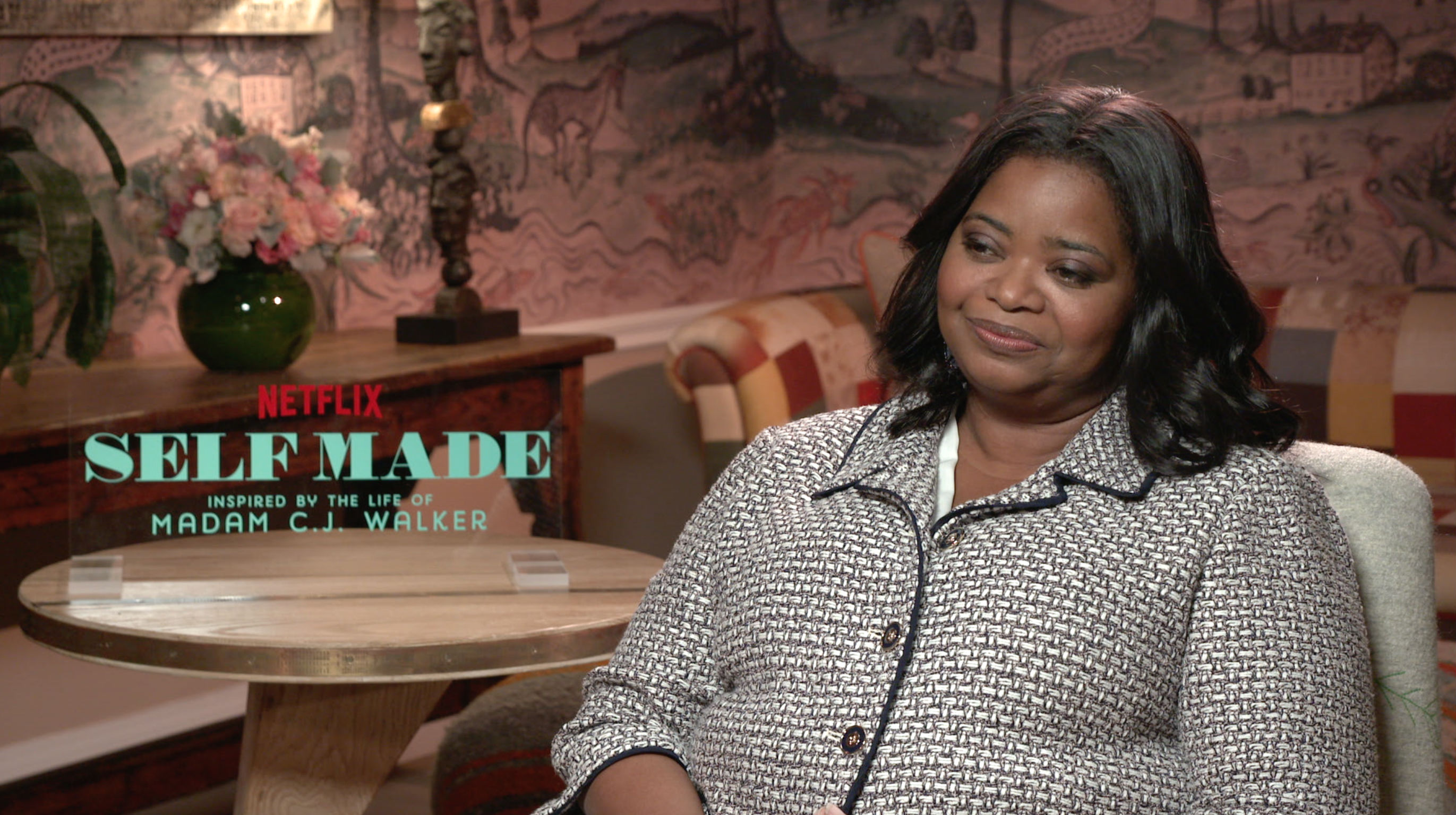 Exclusive Oscar Winner Octavia Spencer Talks Self Made Inspired By The Life Of Madam C J